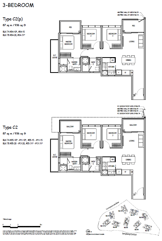 Sengkang Grand Residences floor plan